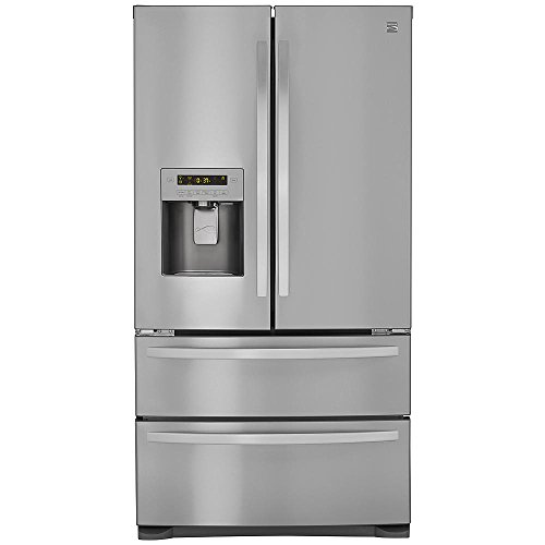 Kenmore 72495 26.7 cu. ft. 4-Door French Door Refrigerator with Dual Freezer Drawers, Active Finish