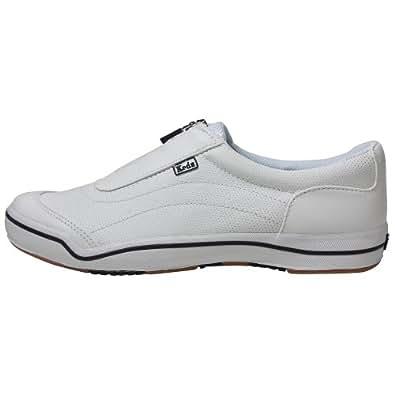 Keds Hampton Sport Zip Sneakers WHITE 5 M Wmns