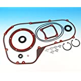 James Gaskets Primary Gasket-Seal Kit Cover for Harley Davidson 1994-2009 FLH, - One Size
