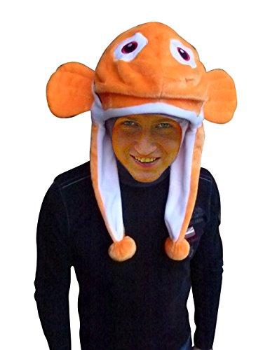 Fish hat adult-s halloween costume-s, unisex women-s men-s, F118 One size