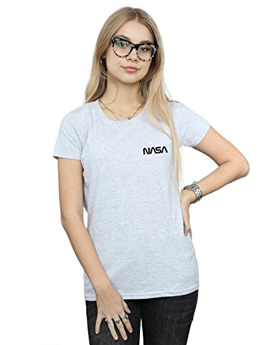 Sport Cult Absolute Logo Mujer Pocket moderno camiseta Nasa gris FSxYxT4