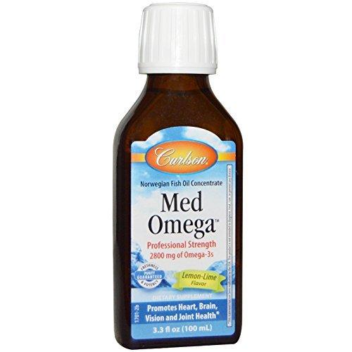 Carlson Labs - MedOmega Fish Oil 2800 3.3 ounce