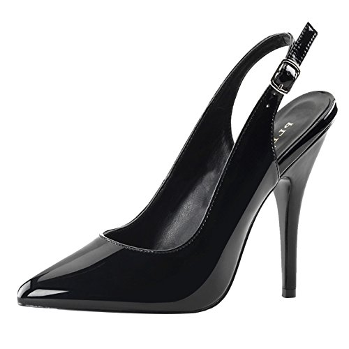 Pleaser - Sexier Than Ever Sling Pumps SEDUCE-317