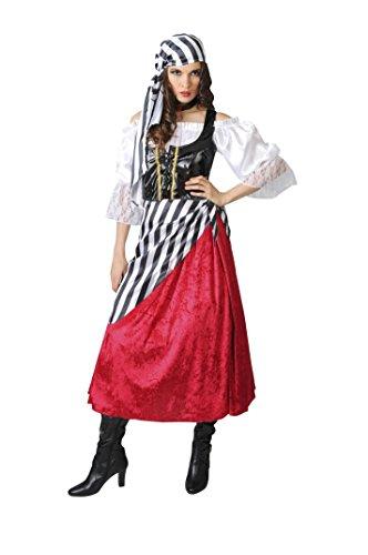 Sassy Pirate Wench Adult Womens Costume (Sassy Pirate Costume)