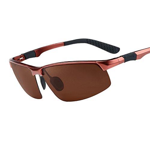 滑り台スキー多数のメガネ?サングラス メンズ偏光サングラス/パーソナライズされた人の流入サングラスメガネ/運転ドライナイトビジョンゴーグル (色 : 6)