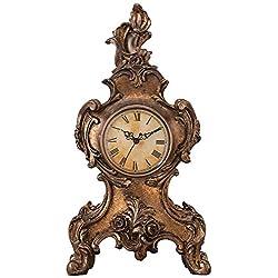 Kensington Hill Taryn Vintage Style 16 1/4 High Table Clock