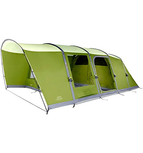 CAPRI 600XL - LARGE FAMILY TENT 6 person - FAMILY TENT WITH ROOMS