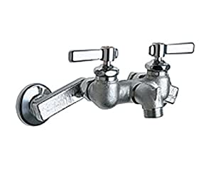 Chicago Faucets 305 Rcf Wall Mount Service Sink Faucet