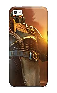 Durable Protector Case Cover With Warhammer Space Marine Hot Design For Iphone 5c