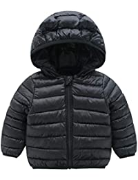 Winter Coats for Kids with Hoods (Padded) Light Puffer...