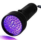 UV Flashlight Blacklight, Handheld Super bright Pet Urine Detector for...