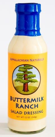 Appalachian Naturals Buttermilk Ranch Dressing---Sugar-Free/BPA-Free by Appalachian Naturals