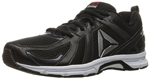 Reebok Men's Runner Running Shoe, Black/Coal/White, 11.5 M US