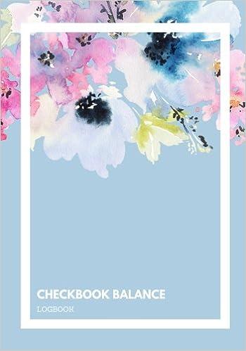 amazon com checkbook balance logbook 6 column personal checking