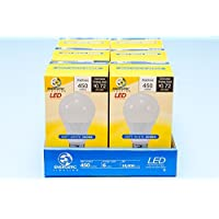 Energetic Lighting ELY06-EAS-VB-6 A19 - 40 Watt Equivalent Soft White (3000K) 5.5 Watt Extended Life LED Bulb, - non-dimmable by Energetic Lighting