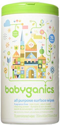 BabyGanics All Purpose Surface Wipes
