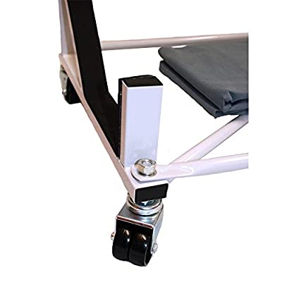 Heavy-duty Hardtop Stand Storage Cart with Securing Strap and Generic Hard Top Dust Cover: Automotive