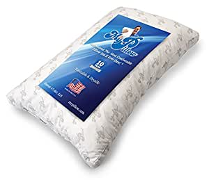 My Pillow Premium Series Bed Pillow, Standard/Queen Size, Yellow Level (Single Pillow)