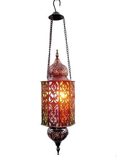 Egyptian Brass Pendant Light in US - 4