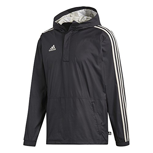 - adidas Men's Soccer Tango Windbreaker (Medium) Black