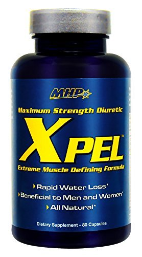 MHP Xpel Maximum Strength Diuretic, Capsules, 80 capsules by Maximum Human Performance
