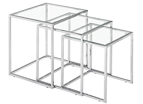 Pasos Nesting Table (PASOS NESTING TABLE CLEAR)