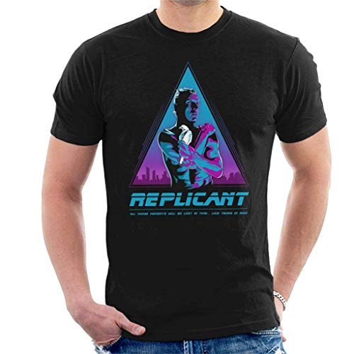 Men's Replicant Blade Runner 80s Graphic T-shirt, S to 3XL
