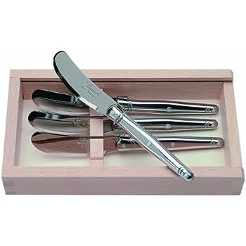 Amazon Com Jean Dubost Laguiole 4 Spreaders In Craft Box
