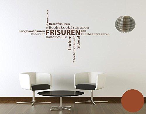 Klebefieber Klebefieber Klebefieber Wandtattoo Frisuren B x H  130cm x 76cm Farbe  Dunkelgrau B071RTT2V3 Wandtattoos & Wandbilder 037051