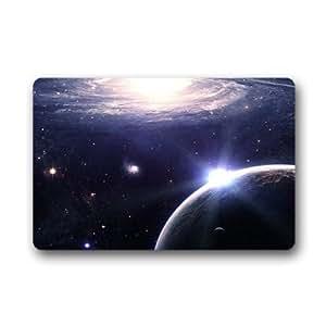 """Custom galaxy space Doormat Outdoor Indoor 18""""x30"""" about 46cmx76cm"""