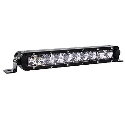 "MicTuning MIC-5DP50, Mini - 50W Cree LED Lights Bar Combo Spot/Flood Beam 5W LED, 4500 lm, 4 x 4 Off Road Jeep Polaris Razor, ATV, SUV, UTV, Car Truck, 13"" L"