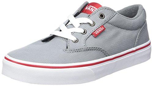 Vans Jungen YT Winston Sneakers Grau (Woven)