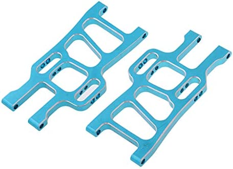 SM SunniMix 2X Aluminium Vorderer Hinter Querlenker für 1/10 HSP 94108 94111 RC Truck - Blau