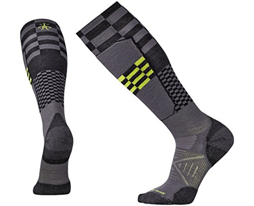 Smartwool Men's PhD Ski Light Elite Pattern Socks Large