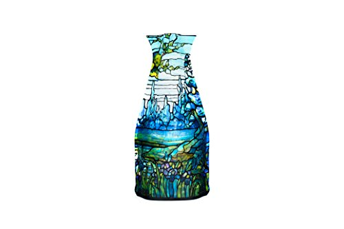 - MODGY Collapsible and Expandable Plastic Vase (Tiffany - Iris)