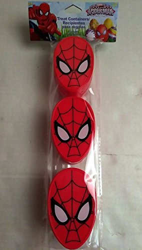 Happy SPIDERMAN Easter Basket Kids Toddlers Gift Children Pre Made Girls Eggs Stickers Goodies Candy Holder