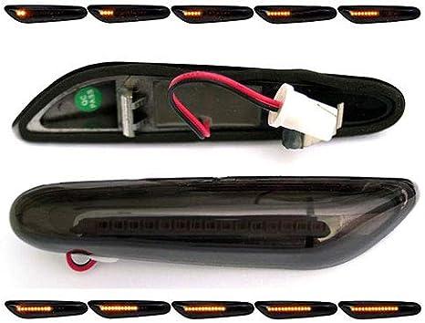 Side DEL clignotant clignotants latéraux noir BMW 5er e61 Touring