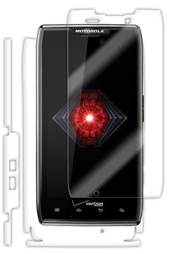(Motorola Droid Razr Maxx Screen Protector + Full Body, Skinomi TechSkin Full Coverage Skin + Screen Protector for Motorola Droid Razr Maxx Front & Back Clear HD Film)
