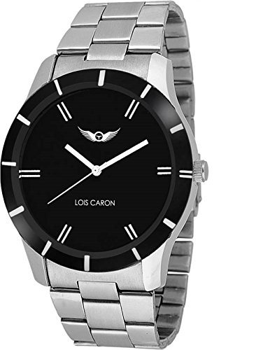 54108d14c23c Buy Lois Caron Analog Black Dial Men s Watch - (Lcs-4091) Online at Low  Prices in India - Amazon.in