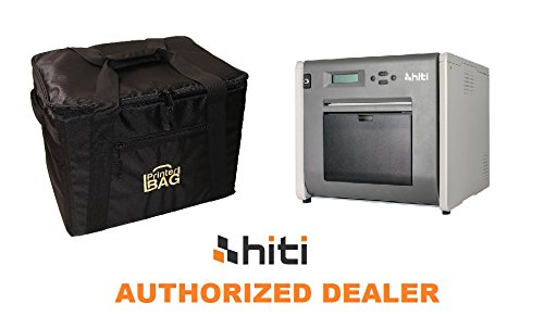 HiTi P525L Photo Printer - BUNDLE - with our exclusive ''PRINTERBAG'' brand carrying case (handbag version). Great printer for photo booth business! (EVENTPRINTERS - AUTHORIZED HITI DEALER) by Hiti and Eventprinters