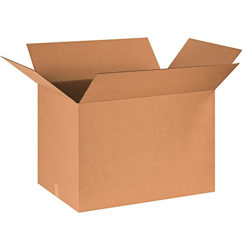 "Aviditi 301818 Single-Wall Corrugated Box, 30"" Length x 18"""