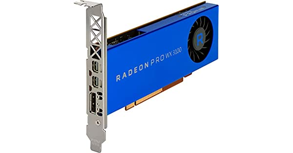 Amazon.com: HP Radeon Pro WX 3100 – Tarjeta gráfica de 4 GB ...