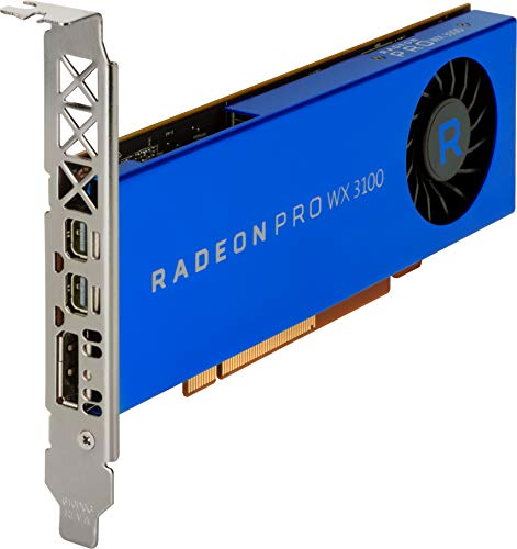 HP Radeon Pro WX 3100 Graphic Card – 4 GB