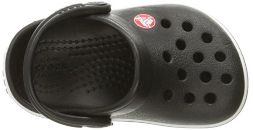 crocs Unisex-Kinder Crocband Clog Kids Schwarz