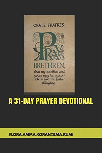 Read Online A 31-DAY PRAYER DEVOTIONAL PDF