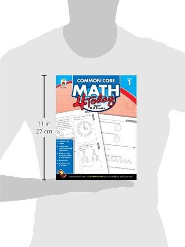 Amazon.com: Common Core Math 4 Today, Grade 1: Daily Skill ...