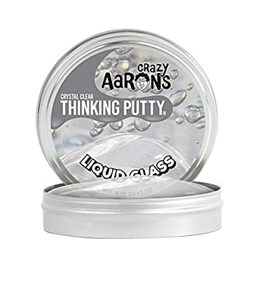 Crazy Aaron's Putty World Thinking Patty Crystal Clear [ Liquid glass ] LG020