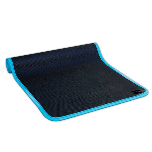 Wai Lana Urban Yoga and Pilates Mat Black/Turquoise