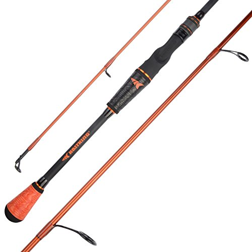 KastKing Speed Demon Pro Bass Fishing Rods, Spin-Jig-Worm-7ft 3in M Power-Fast