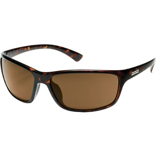 Suncloud Optics Sentry Injected Frames Polarized Designer Sunglasses/Eyewear - Tortoise/Brown / One Size Fits All